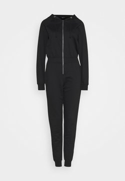 Missguided Tall - HOODED LOOP BACK - Combinaison - black