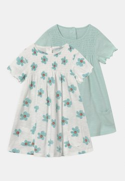 Marks & Spencer London - BABY DRESSES 2 PACK - Jerseykleid - ivory