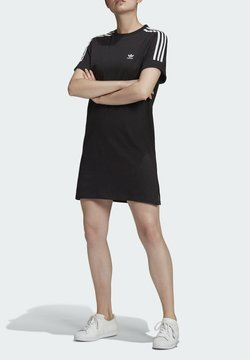 adidas Originals - TEE DRESS - Trikoomekko - black