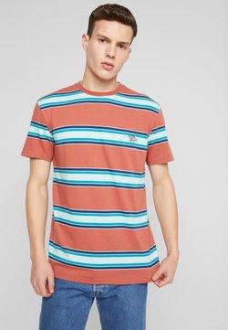 Quiksilver - COREKY - T-Shirt print - redwood/coreky mate