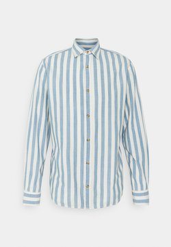 Jack & Jones - JJTEXAS PLAIN - Hemd - light blue denim/stripe