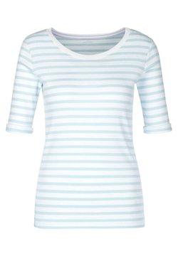 Marc Cain - T-Shirt basic - bleu