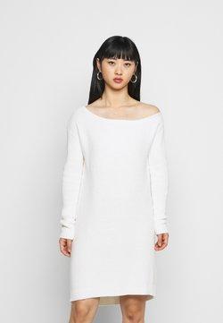Even&Odd Petite - Gebreide jurk - off white