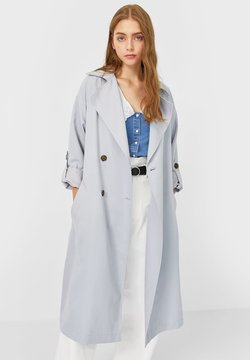 Stradivarius - Trench - grey