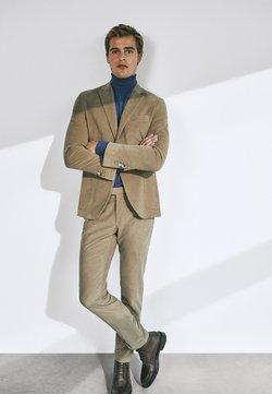 Massimo Dutti - SLIM-FIT  - Chino - beige