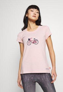 Vaude - WOMEN'S CYCLIST - T-Shirt print - rosewater