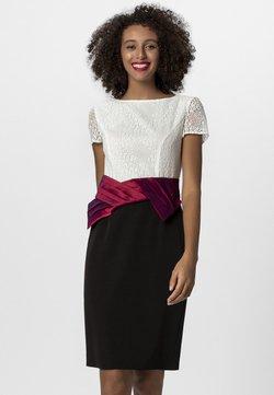 Apart - Cocktailkleid/festliches Kleid - cream/burgundy/black