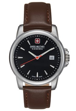 Swiss Military Hanowa - SWISS RECRUIT II - Montre - brown/silver-coloured/black