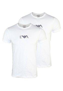 Emporio Armani - 2 PACK  - T-Shirt print - white