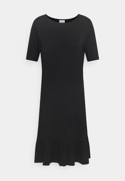 Vila - VISUS DRESS - Jersey dress - black