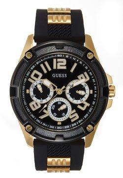 Guess - MENS SPORT MULTIFUNCTION - Montre - black/gold-coloured