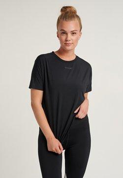 Hummel - LREESE - T-shirt basic - black