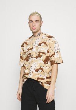Karl Kani - T-Shirt print - sand