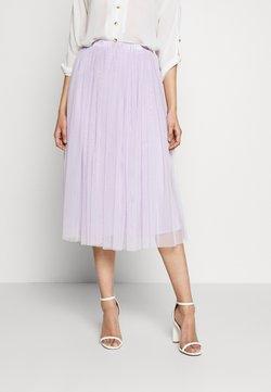Lace & Beads Tall - VAL SKIRT - A-lijn rok - lilac