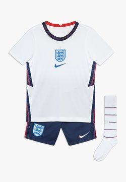 Nike Performance - ENGLAND ENT LK NK BRT KIT HM SET - Pantalón corto de deporte - white/royal