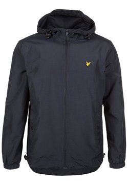 Lyle & Scott - ZIP THROUGH HOODED JACKET - Korte jassen - dark blue