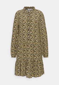Moss Copenhagen - WILDA MOROCCO DRESS - Blusenkleid - blk flower