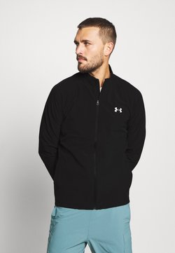 Under Armour - LAUNCH 3.0 STORM JACKET - Laufjacke - black/black/reflective