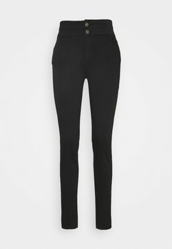 NAF NAF - F-POWER  - Trousers - noir