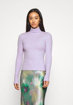 Weekday - VERENA TURTLENECK - Langærmede T-shirts - lilac