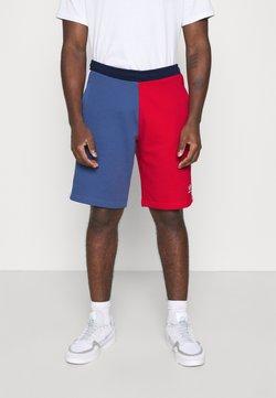 adidas Originals - BLOCKED UNISEX - Shorts - scarlet/crew blue