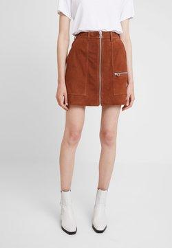 Denham - NORWOOD SKIRT - A-line skirt - tan