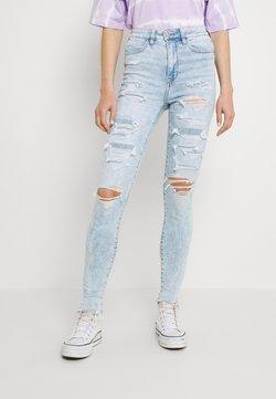 American Eagle - HIGHEST RISE JEGGING - Jeans Skinny - light acid wash