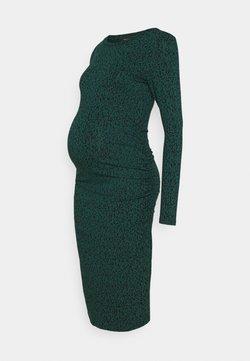 Supermom - DRESS LEOPARD SCRIBBLE - Jerseyjurk - ponderosa pine