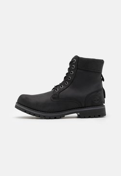 Timberland - RUGGED 6 IN PLAIN TOE WP - Schnürstiefelette - black