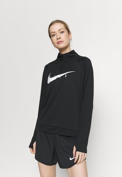 Nike Performance - Funktionsshirt - black/white