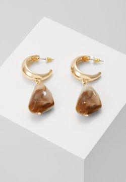 LIARS & LOVERS - HOOP DROP - Earrings - gold-coloured