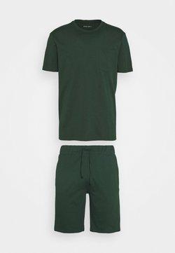Pier One - SET - Pyjama - dark green
