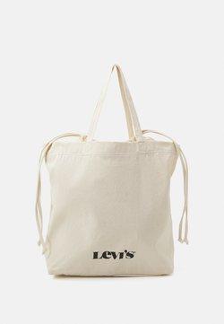 Levi's® - WOMEN'S DRAWSTRING TOTE - Shoppingväska - regular white