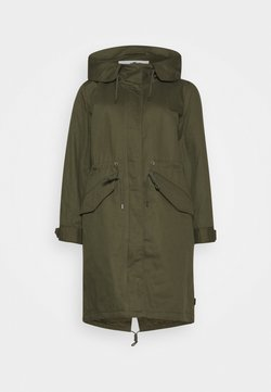 TOM TAILOR - AUTHENTIC WINTER - Parka - olive night green