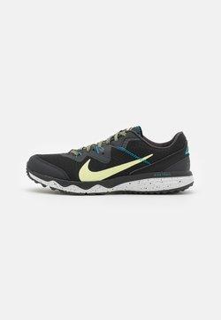 Nike Performance - JUNIPER TRAIL - Zapatillas de trail running - off noir/limelight/black/laser blue/pure platinum