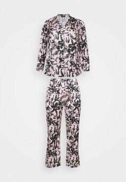 Simply Be - PRETTY SECRETS BUTTON THROUGH - Pyjama - pink/black