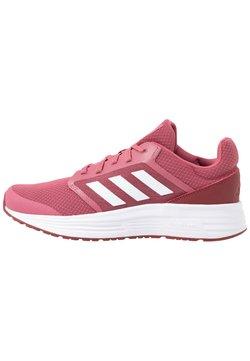 adidas Performance - GALAXY 5 - Neutrala löparskor - trace maroon/footwear white/red