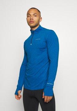 Endurance - ABBAS PRINTED MIDLAYER - Funktionsshirt - imperial blue
