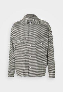 Weekday - VAN CHECKED  - Camicia - black /white