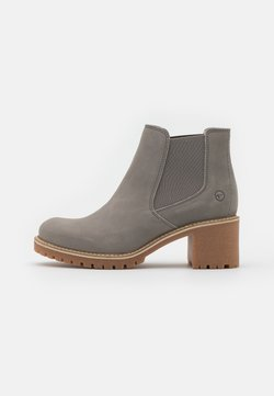 Tamaris - Ankle boots - light grey