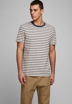 Jack & Jones - T-Shirt print - white melange