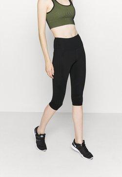 Cotton On Body - STRIPE CAPRI - Tights - black
