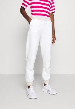 Trendyol - Spodnie treningowe - ecru
