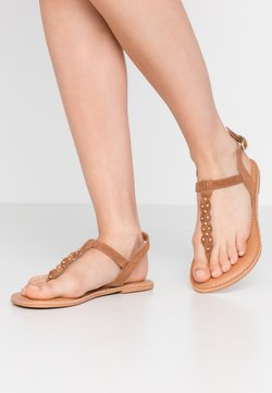 New Look Wide Fit - WIDE FIT GINA - Tongs - tan
