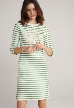 JOOP! - Jerseykleid - grün weiß gestreift