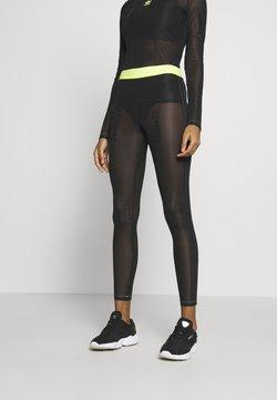 adidas Originals - FIORUCCI INLINE SHEER TRANSPARENT TIGHTS - Leggings - black