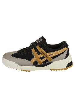 Onitsuka Tiger - DELEGATION EX - Sneaker low - black/tan pesidio