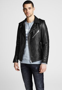 Royal Denim Division by Jack & Jones - Nahkatakki - black