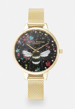 Olivia Burton - NIGHT GARDEN - Rannekello - gold-coloured/black