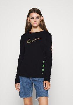 Nike Sportswear - TEE WORLDWIDE - Pitkähihainen paita - black